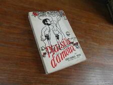 LOUIS CHARLES ROYER PLAISIRS D'AMOUR Editions de Paris 1952 ill. couv JEAN EFFEL