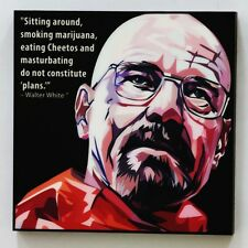 Walter White Breaking bad canvas quote wall decals photo painting pop art poster