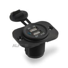 Adaptateur Prise 2 Ports USB Allume Cigare Chargeur 12V Pour Auto Voiture