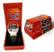 DUKES_OF_HAZZARD VINTAGE_WATCH MELODY_ALARM MINT_PERFECT IT_WORKS_&_PLAYS_ DIXIE