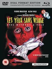 Eyes Without A Face - [Dual Format Edition - DVD & Blu ray] NEW & SEALED