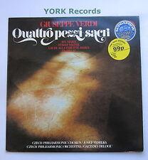 1112 2443 - VERDI - Quattro Pezzi Sacri VESELKA Czech Phil Chorus - Ex LP Record