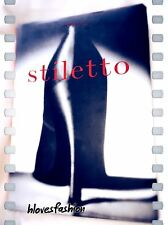 ✨��Caroline Cox Stiletto Shoe Fashion History Design Lifestyle Culture Book��✨