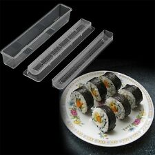 Sushi Roll Rice Maker Mould Roller Mold DIY Non-stick Easy Chef Kitchen YU