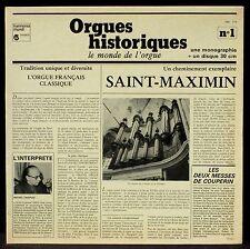 Couperin Messe des paroisses Chapuis LP NM, CV NM -
