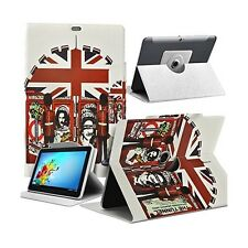 Housse Etui Motif MV05 Universel L pour Tablette Archos 97 Platinum HD