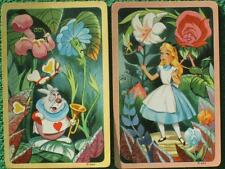 Walt Disney Productions Vintage 1951 Original Alice In Wonderland Swap Cards WOW