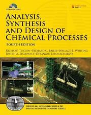 Analysis, Synthesis and Design of Chemical Processes (4th Edition)