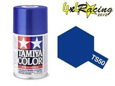 Tamiya TS-50 Blue Mica 100ml Color Plastics 85050 TS50 spray plastica blu
