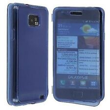 CUSTODIA COVER per SAMSUNG GT i9100 GALAXY S2 SILICONE ULTRA JELLY CASE BLU