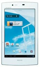 "NEC N-08D Medias 7"" Wi-Fi Only Tablet w/ 8MP Camera - White - New"