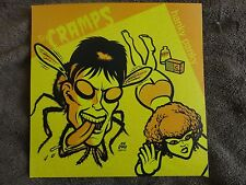 "The Cramps- Hanky Panky 7"" A&M Demos RARE! Gun Club Kid Congo punk psychobilly"
