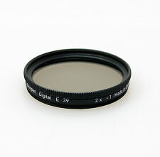 Heliopan 39mm Neutral Density ND0.3 Filter. Brand New Stock
