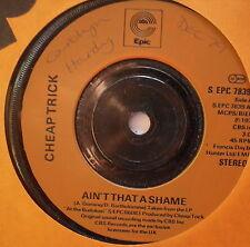 """CHEAP TRICK - Ain't That A Shame - Excellent Condition 7"""" Single Epic EPC 7839"""