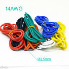 4 Meter 14AWG Flexible Soft Silicone Wire Tin Copper RC Electronic Cable 8Color