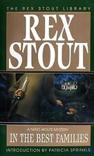 Nero Wolfe: In the Best Families 17 by Rex Stout (1995, Paperback)