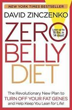 Zero Belly Diet David Zinczenko Hardcover Dust Jacket EUC
