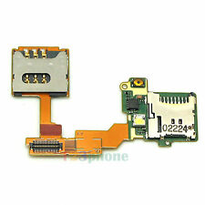 NEW SIM SLOT & MICRO SD TRAY FLEX CABLE FOR SONY ERICSSON VIVAZ PRO U8 U8i #F278