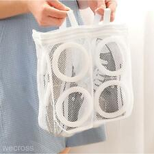New Durable Portable Dry Shoes Storage Organizer Laundry Supply Washing Mesh Bag