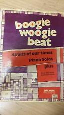 Boogie Woogie Beat: 43 Piano Solos: Music Score (K4a)