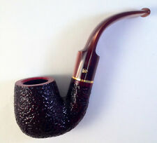 Savinelli Roma Lucite #614 Oom Paul Full Bent Tobacco Smoking Pipe - 5235K