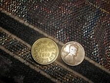 New listing Van & Gordon 1316 Pacific Ave Good For 5 Cent In Trade Brass Scrip Token