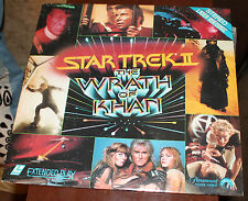 STAR TREK II THE WRATH OF KHAN PARAMOUNT HOME VIDEO LASER VIDEODISC 1982