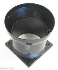 Km4382b CPU Dissipatore Di Calore & Ventilatore REGOLABILE aria di ventilazione condotto, imbuto. + 4 VITI