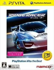 Used PS Vita Ridge Racer Best  SONY PLAYSTATION JAPANESE IMPORT