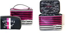 Victoria's Secret beauty bag set Make Up organizer lingerie travel case duo 2PC