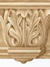 Victorian Architectural Golden Crown Molding - Wallpaper Border 525