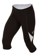 Pearl Izumi Women's Sugar 3/4 Cycling Tights with Chamois Black/White - Small