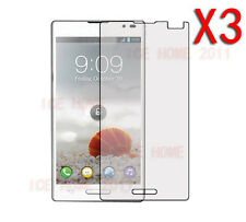 3X Clear Ultra Thin Screen Protector For LG Optimus L9 P760 P765