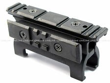 China Made Airsoft Aluminium See Through Top & Side 20mm Rail Mount For G3 MP5