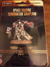Terminator Chaplain Limited Edition Collectors Edition BNIB 40K Space Marine