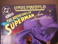 The Adventures of Superman #530 VG Underworld Unleashed (1995) DC Comics-SIGNED