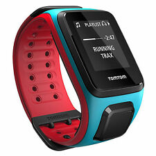TomTom Runner 2 Music GPS Watch Sportuhr Blue Red