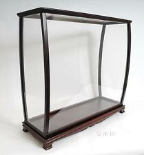 Table Top Display Case For Ship Models Size L: 40 W: 13.75 H: 39.25 Inches