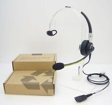 JABRA BIZ 2400 Wired Mono 3-in-1 Over-The-Head Office Phone Headset 2406-820-105