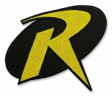 """ROBIN"" Modern Comic Costume FULL SIZE PROP - Iron-On Embroidered Patch - BATMAN"