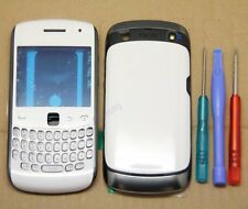 COQUE COMPLETE REMPLACEMENT CHASSIS FACADE BLACKBERRY CURVE 9360 BLANC + CLAVIER