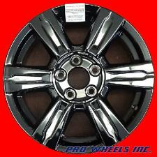 "SET OF 4 GMC TERRAIN 17X7"" BLACK PVD FACTORY ORIGINAL WHEEL RIM 5642 BLACK"