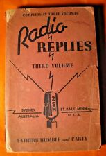 1942 Radio Replies Fathers Rumble and Carty Catholic Broadcasting Station 2SM