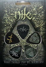 NILE PLEKTRUMSET / GUITAR PICK SET WHAT SHOULD NOT BE UNEARTHED - 5 STÜCK