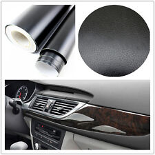 3D black Leather Texture Sheet Car Auto Interior Trim Vinyl Film Wrap Sticker