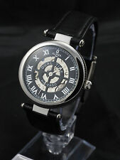 Alpha Reverso Traveler mechanical watch double sided Dual time zone