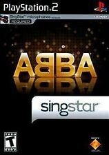 Singstar ABBA (2008) Playstation 2 PS2 Game NEW!