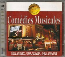 2 CD COMPIL 30 TITRES--COMEDIES MUSICALES--CROSBY/ASTAIRE/GARLAND/SINATRA/HORNE