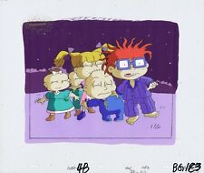 RUGRATS Production Cel Cell Original Painted Animation Art Nickelodeon COA