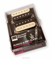 New Seymour Duncan APH-2s Alnico II Pro Slash Humbucker Matched Set Zebra USA